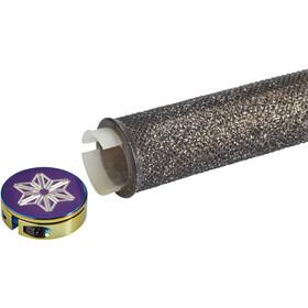 Supacaz Diamond Kush Manopole, black/oil slick DH star ringz